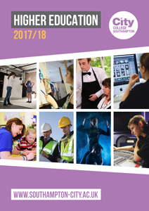 Higher Education course guide 2017/18