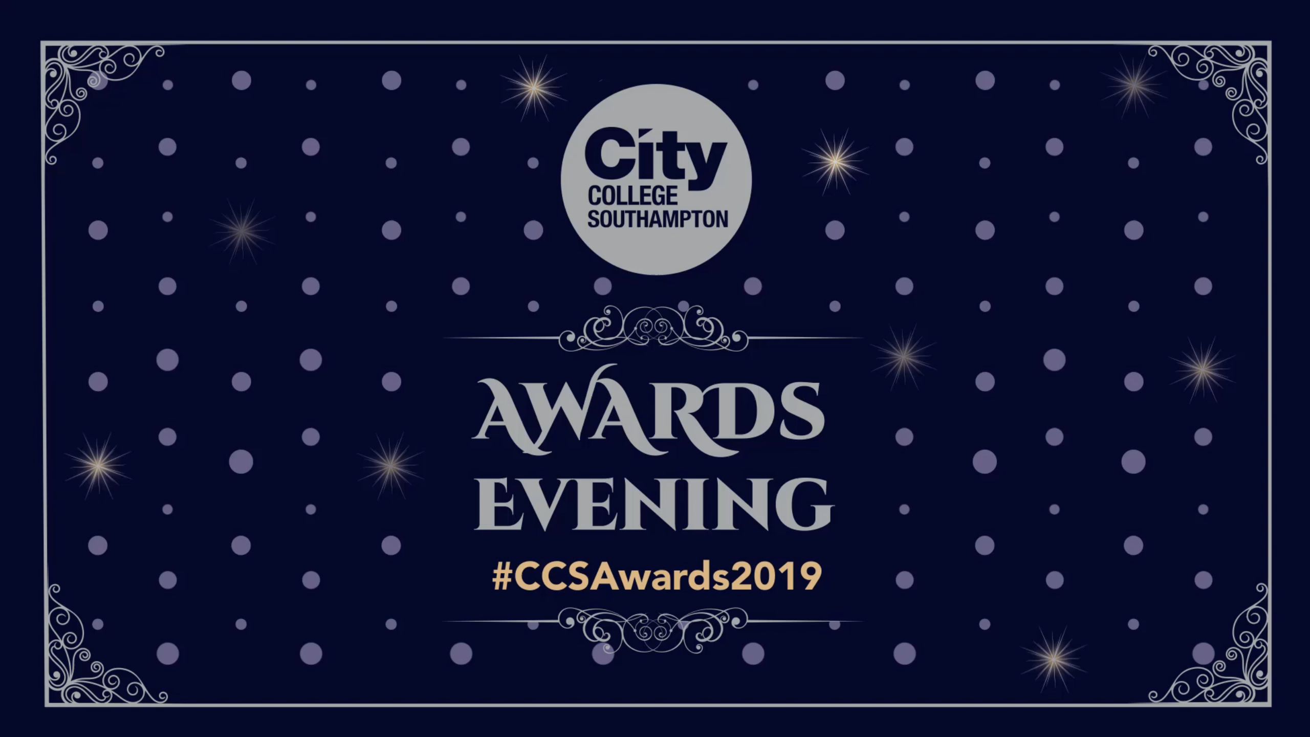 View the highlights of City College's Awards Evening 2019