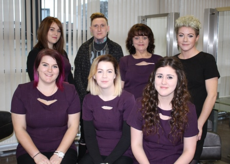 Wella comp hair students